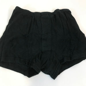 Denham Womens Black knit Shorts  SM